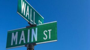 westchester new york mount kisco wall street and main street signs